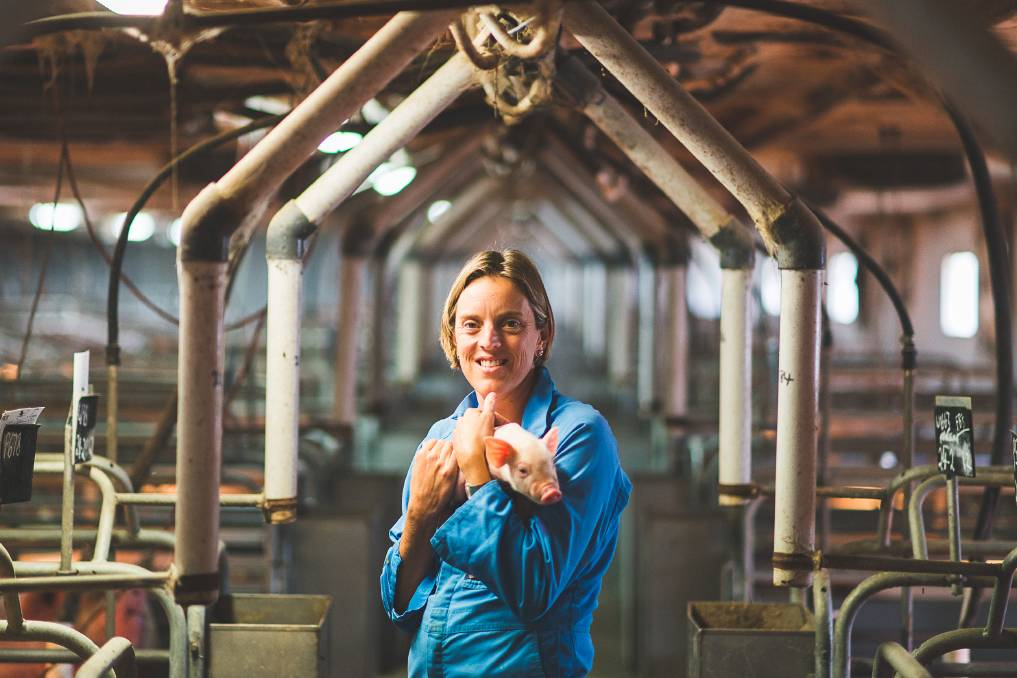 Edwina Beveridge, a pork producer from NSW has a great story to tell around innovation and saving food waste from landfill.