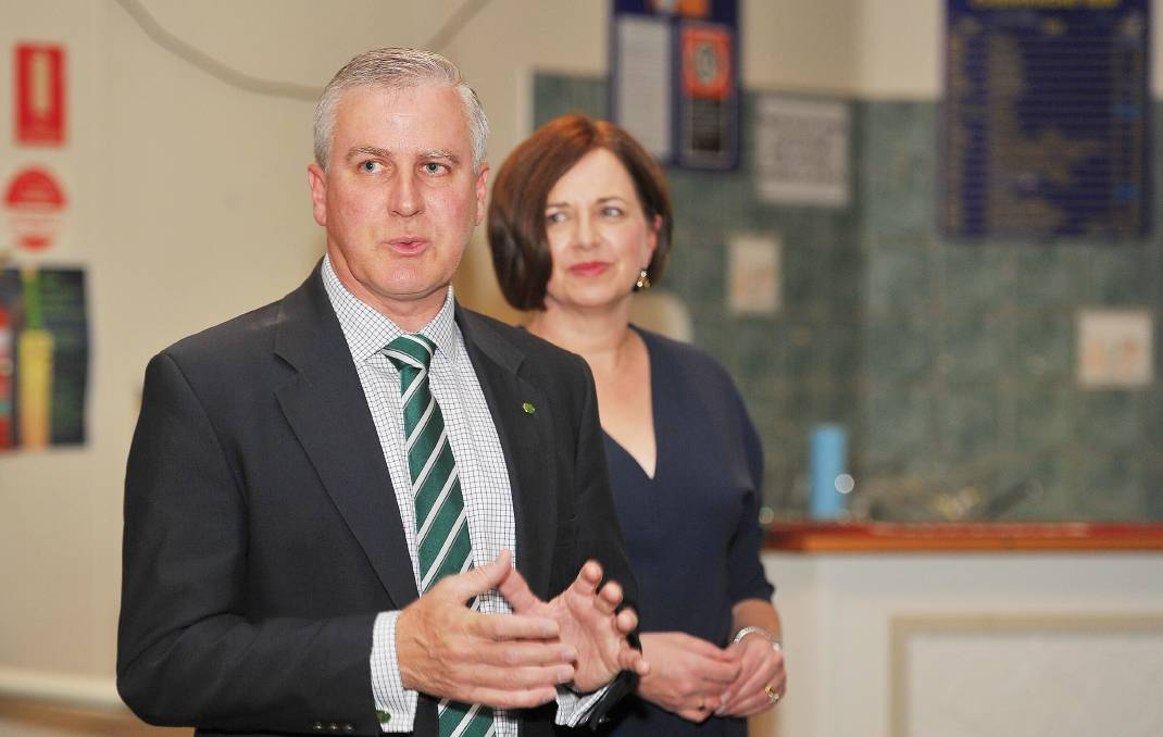 UNDER SIEGE: Michael McCormack's name has been raised in the dual-citizenship saga.